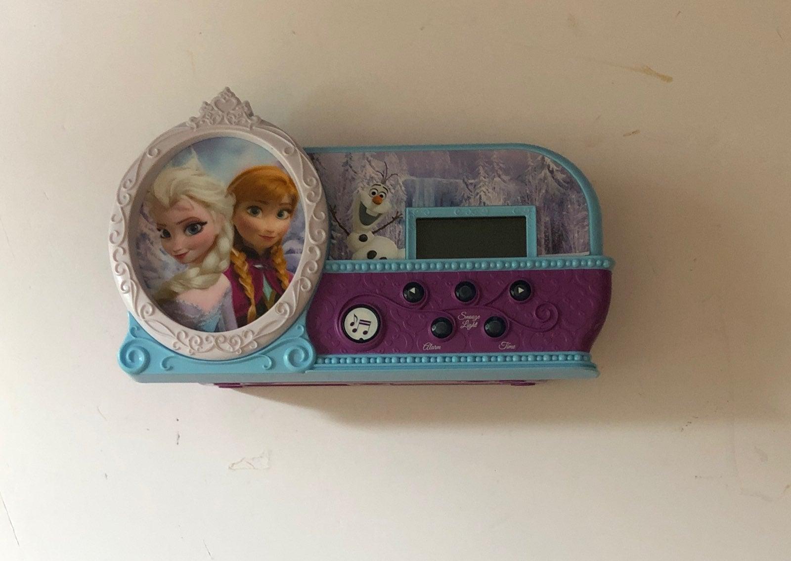 Disney Frozen Alarm Clock
