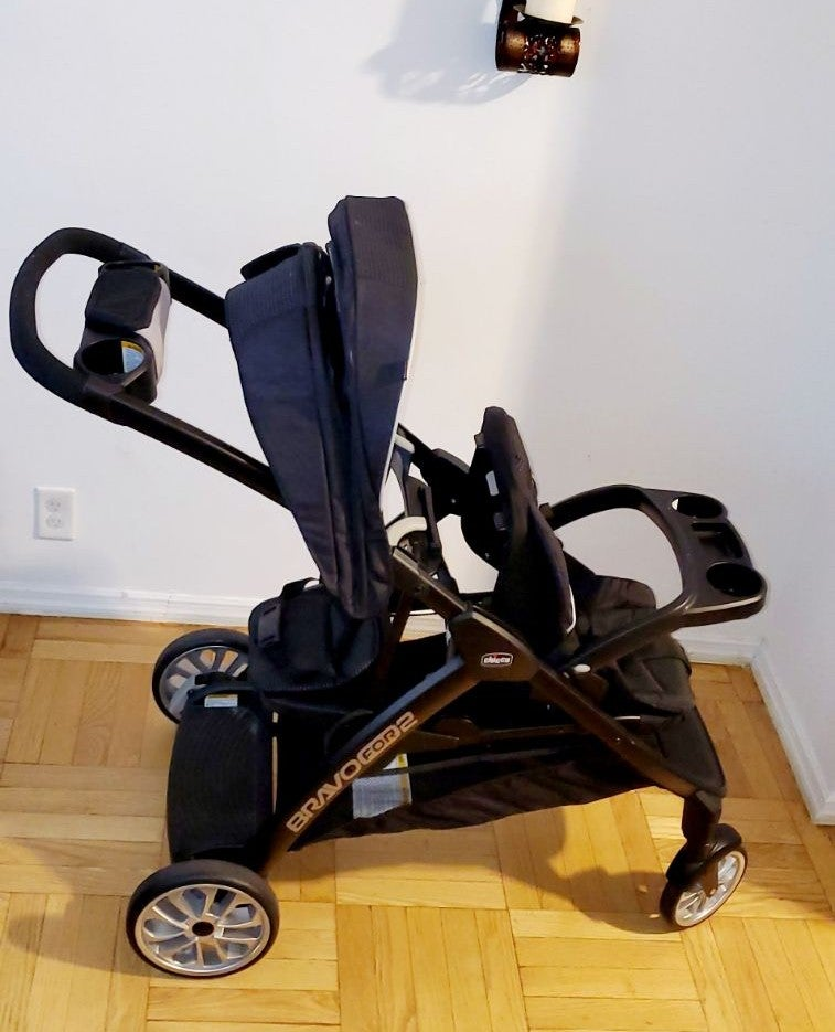 Chicco® BravoFor2™ Double Stroller in Ir