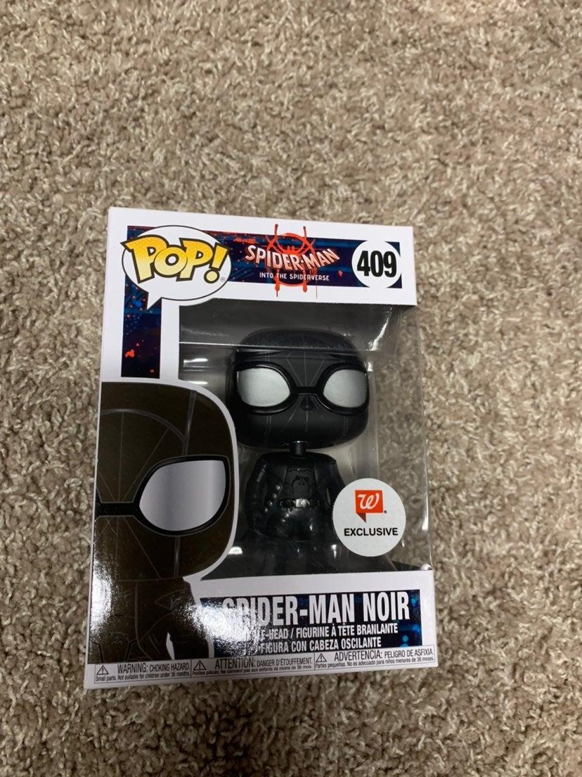 Funko pop spider-man spiderman noir