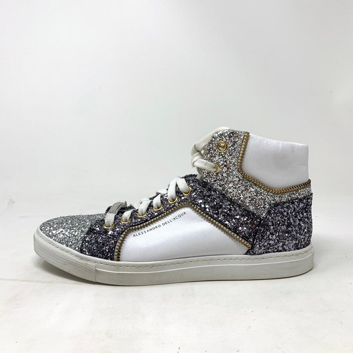 Alessandro Dell'Acqua argento sneakers 7