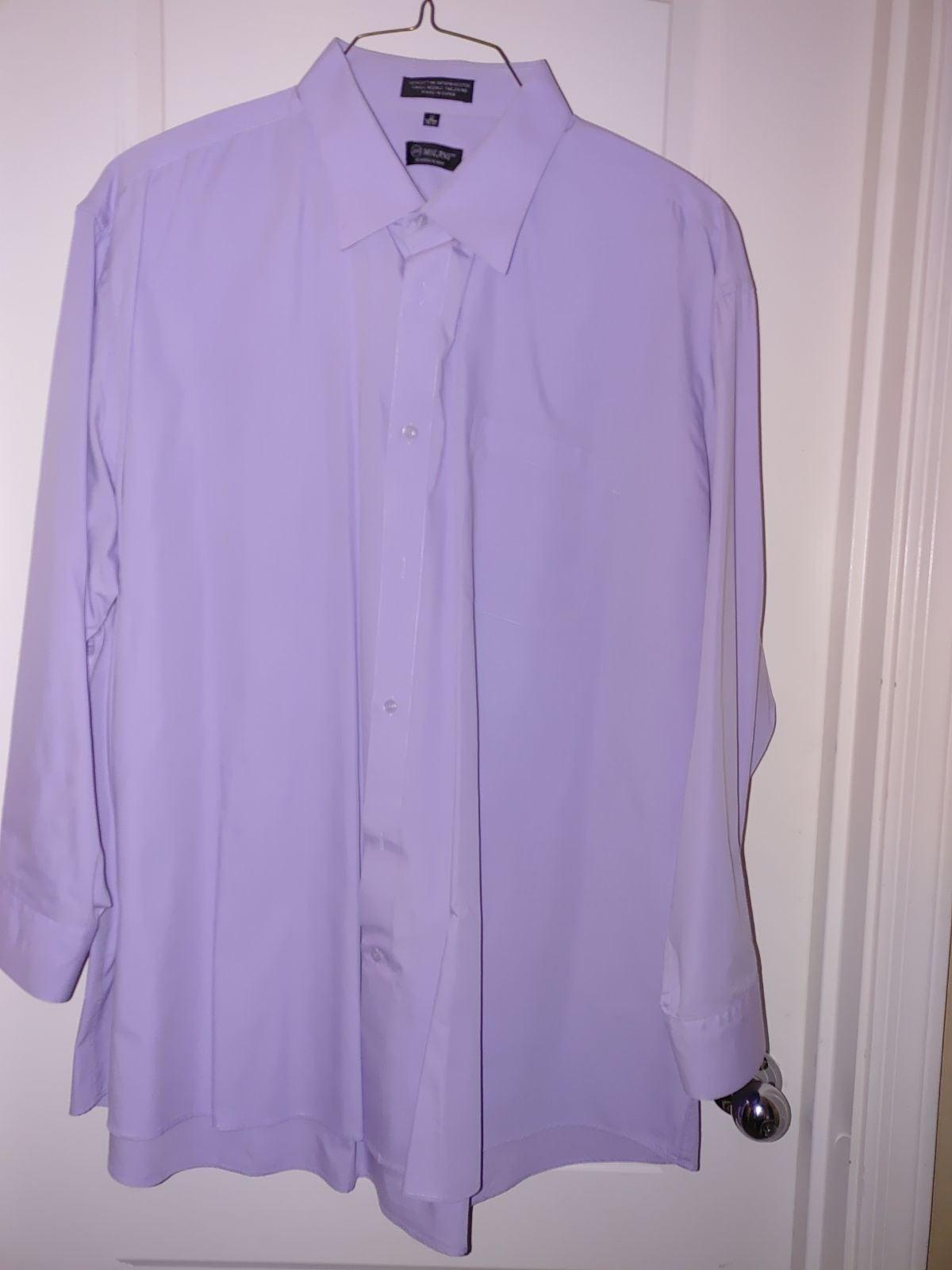 Men's Big and Tall dress shirt