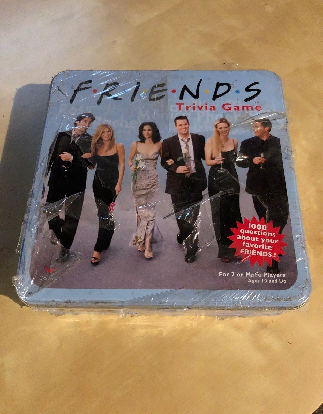 Friends TV Show Trivia Game