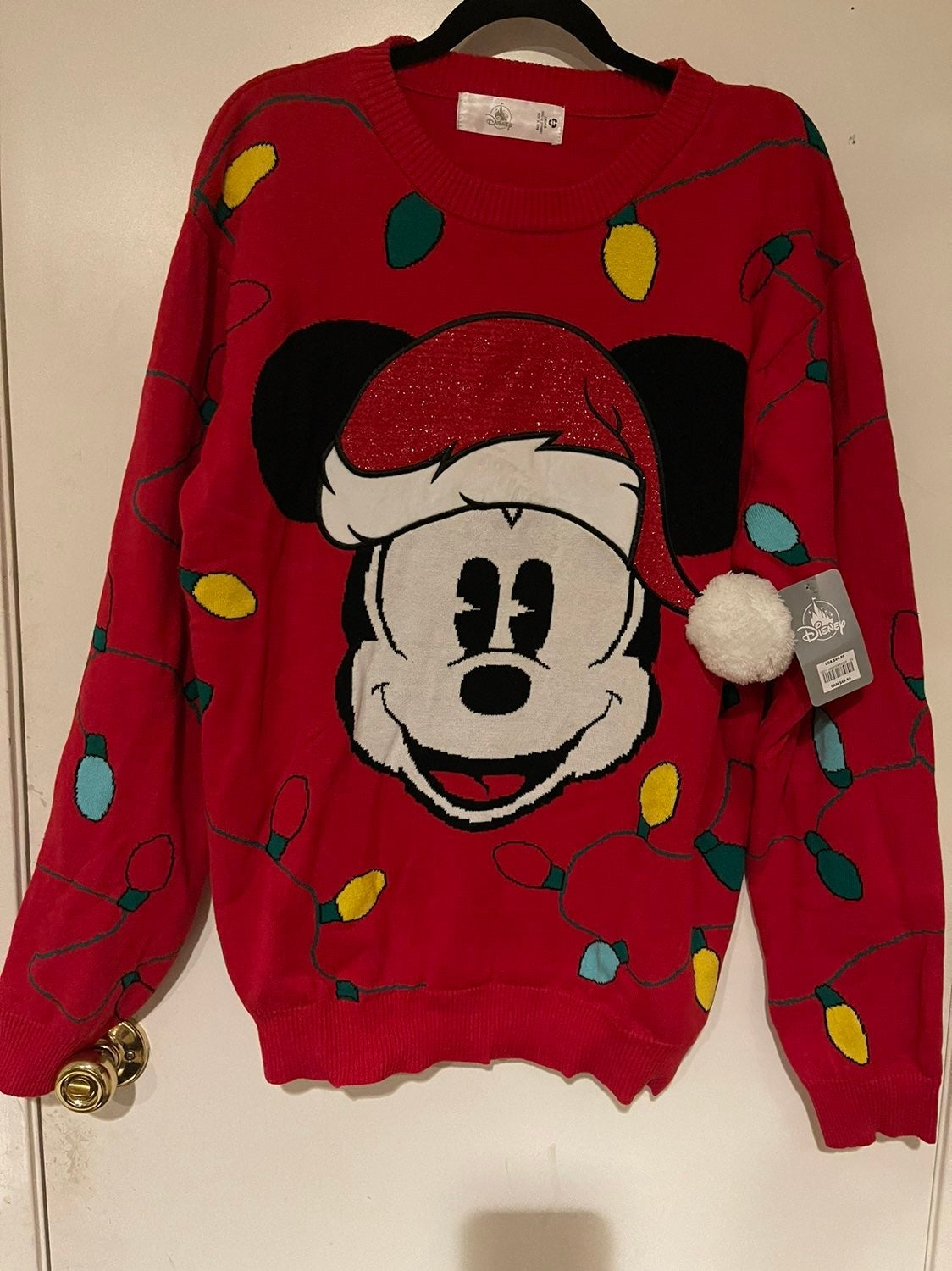 Mickey Mouse Christmas Holiday Sweater