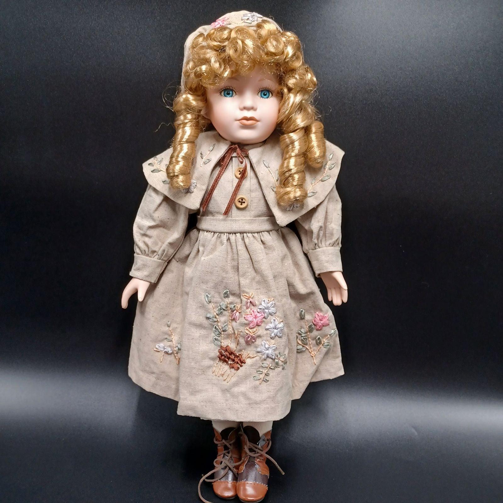 European Doll Porcelain collectible