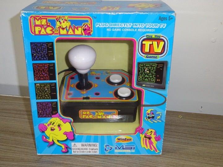Vtg '93 Namco Ms. Pac-Man Arcade Game