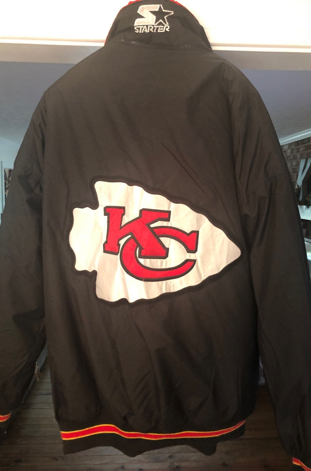Kansas City Chiefs Vintage Starter XL