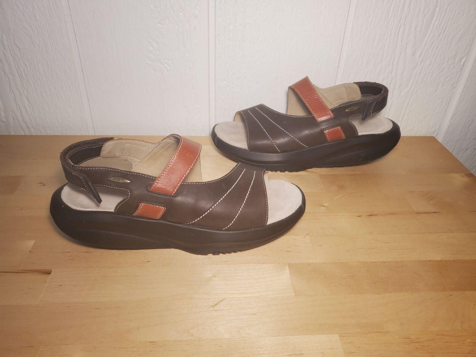 MBT Ema Swiss Womens Rocker Sandals sz10