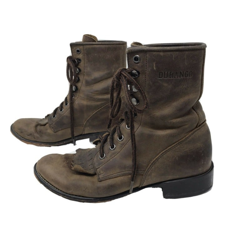 Durango Lace-Up Boots   Mercari