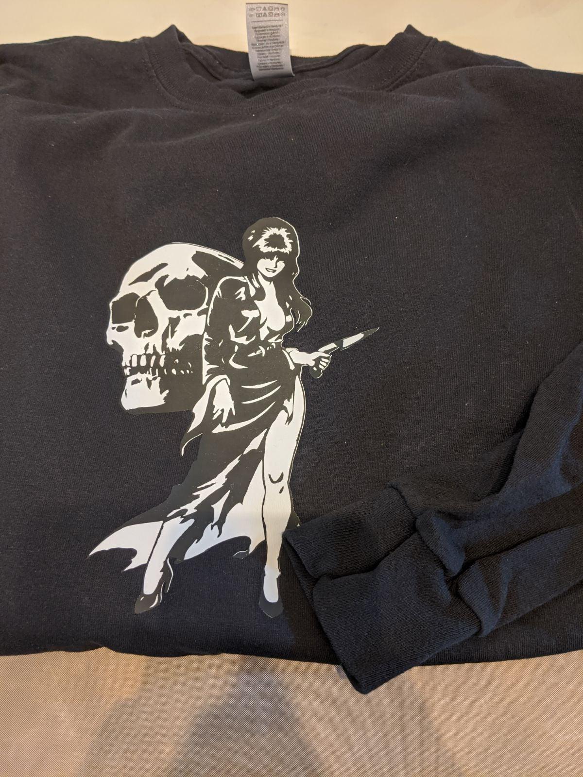 long sleeve shirt Elvira t-shirt