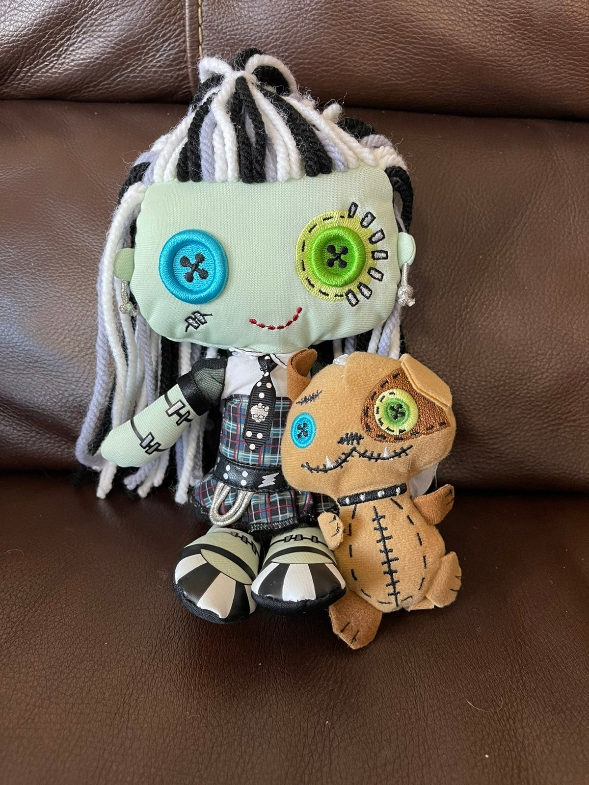 Monster High Rag doll Frankie Stein and
