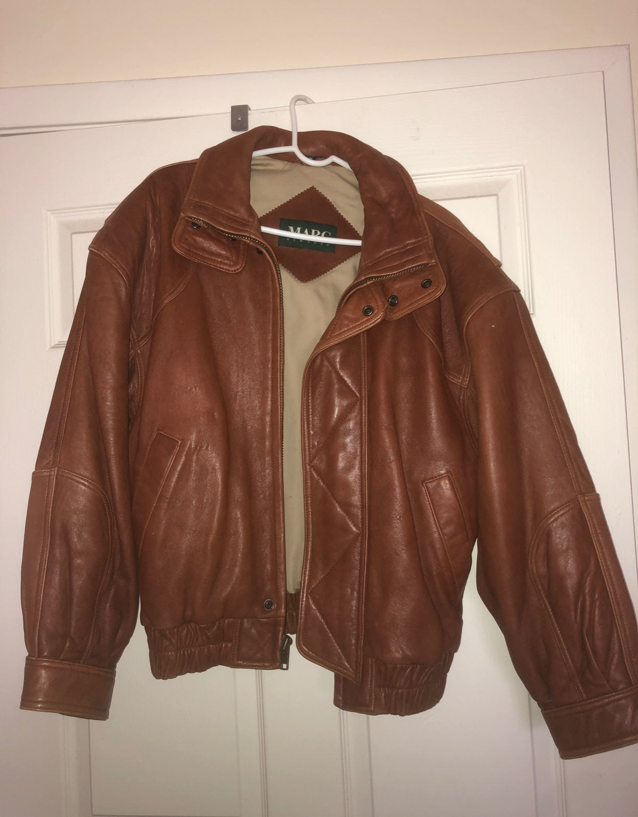 Leather Jacket by marc new york