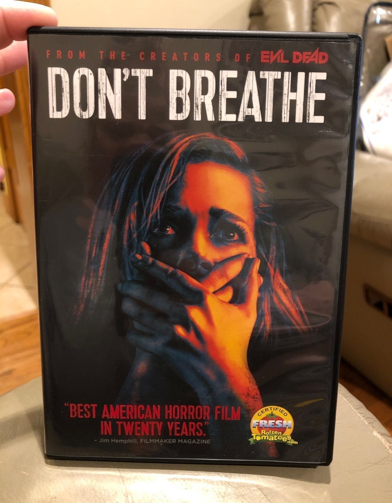 """Movie DVD Horror Film """" Dont Breathe"""""""