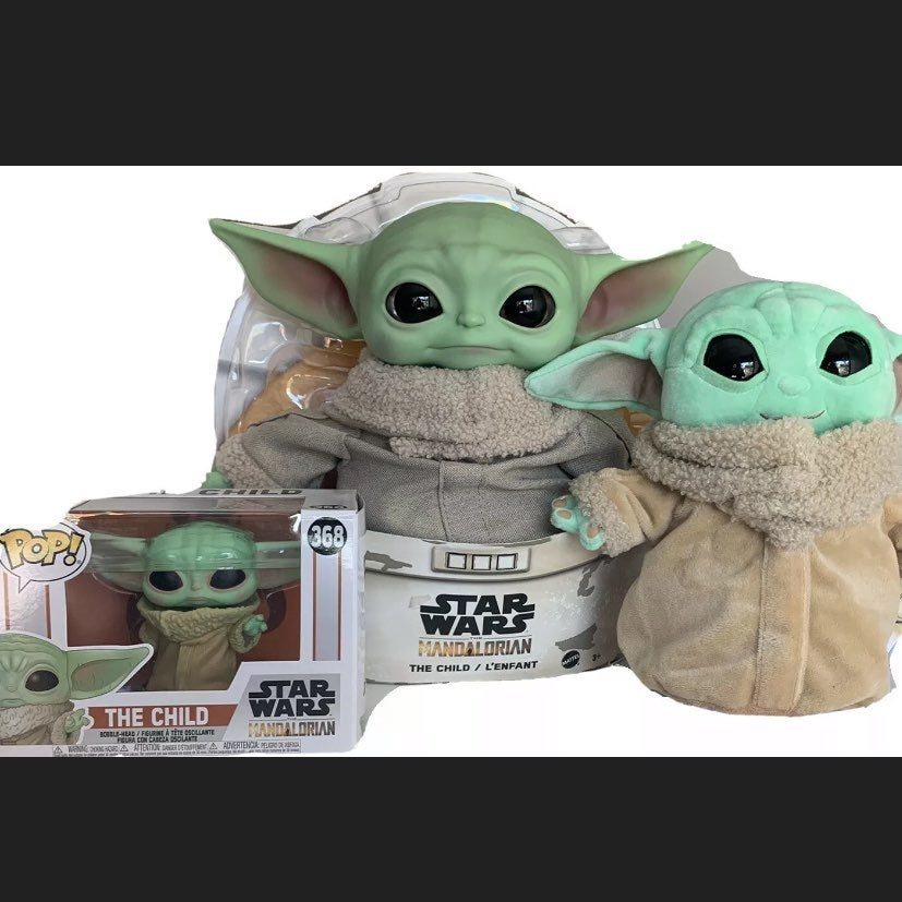 Baby Yoda Combo: STAR WARS Funko pop +