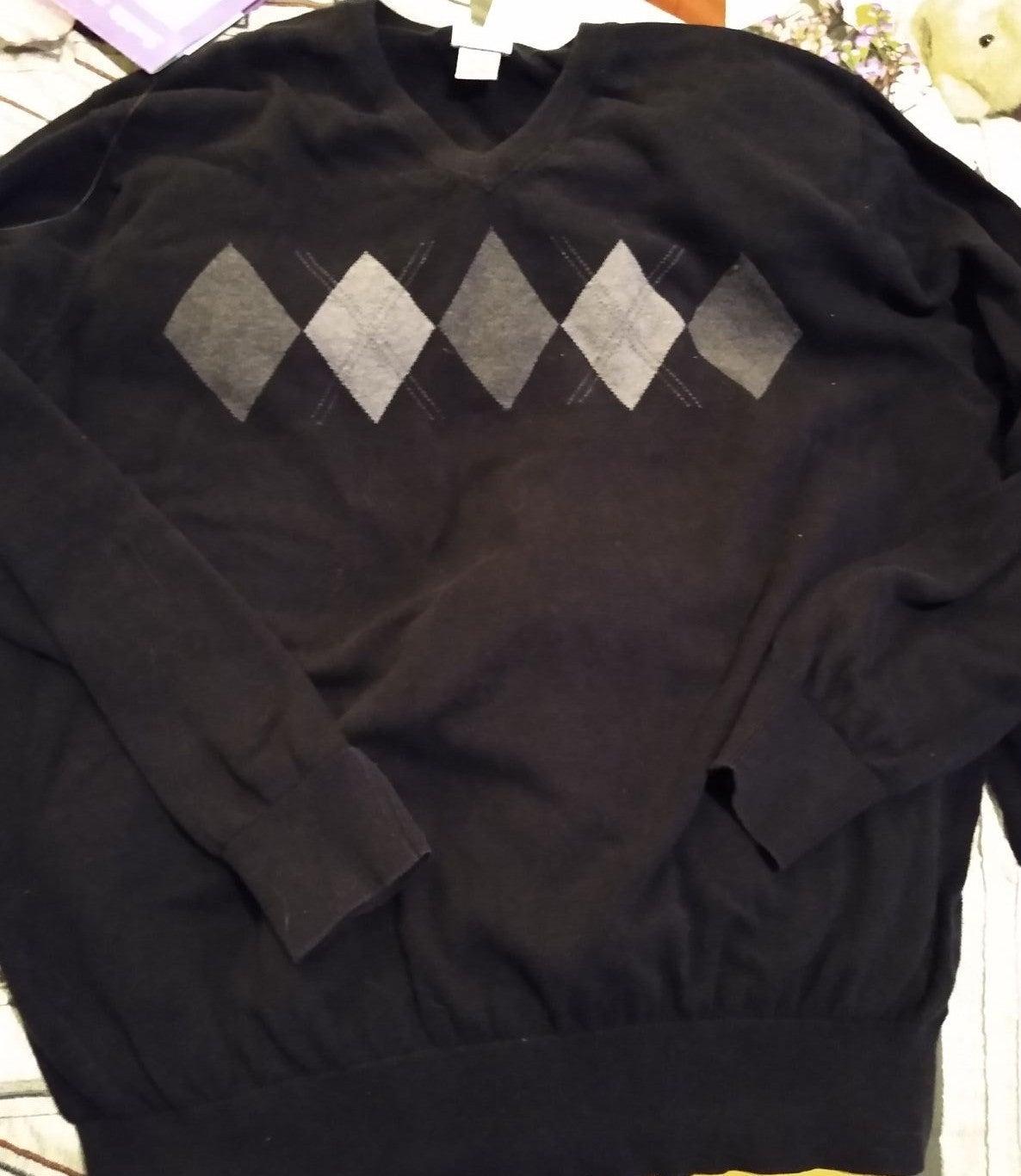 XXL Geoffrey Beene Arguile Sweater