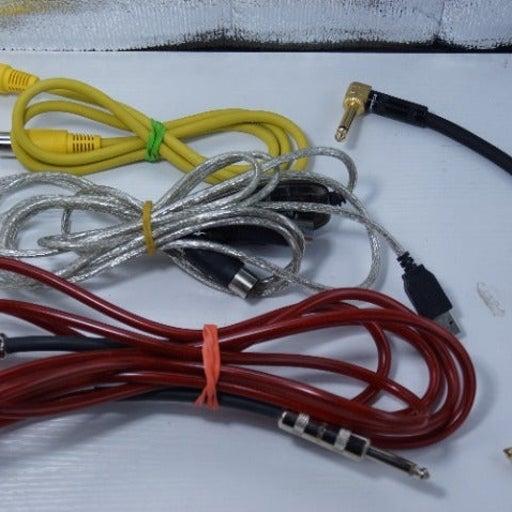 """professional audio cables gear MIDI 1/4"""""""