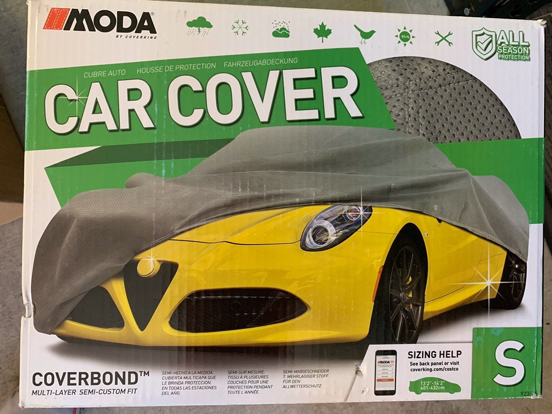 Car cover new in box