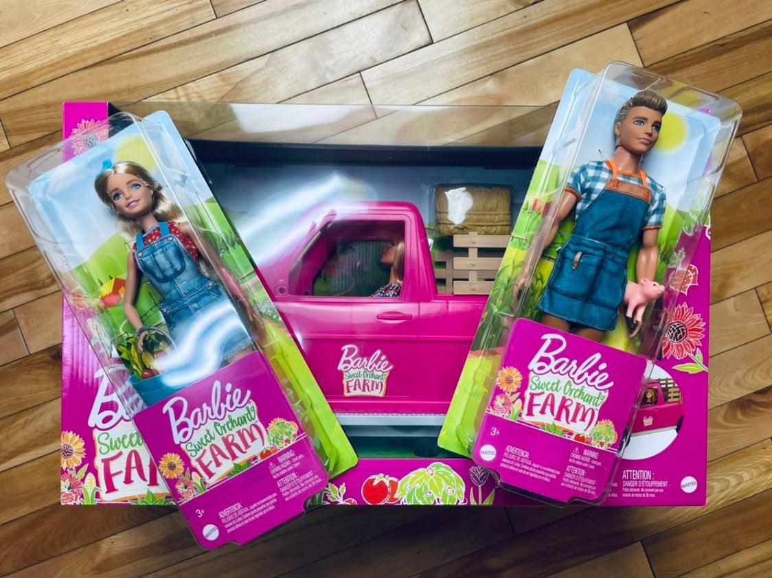 Barbie Sweet Orchard Farm Bundle