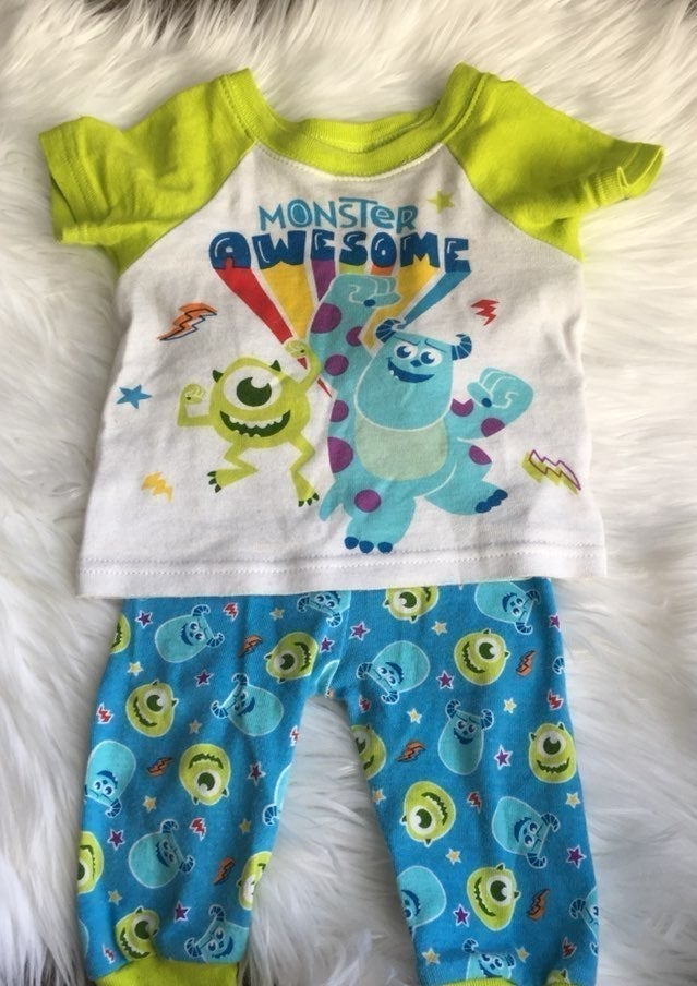 Monsters Inc Pajamas