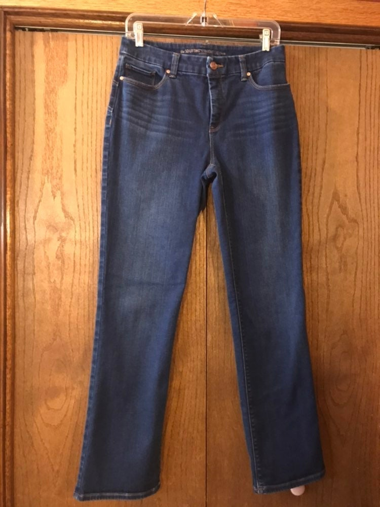 Chicos So Lifting Straight Jeans Size .5
