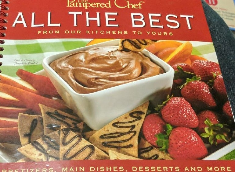 Pampered Chef ALL THE BEST Cookbook