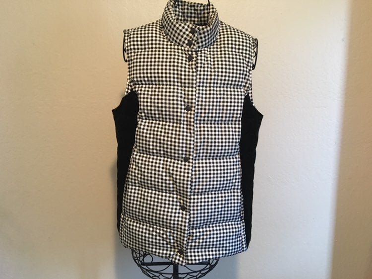 J. Jill Down Puffer Vest Jacket