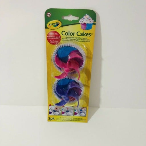 Crayola Color Cakes Cupcakes Maker