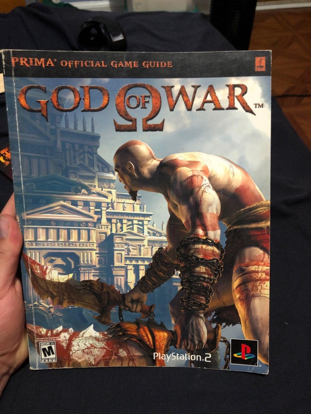 God of War 1 Official Game Guide