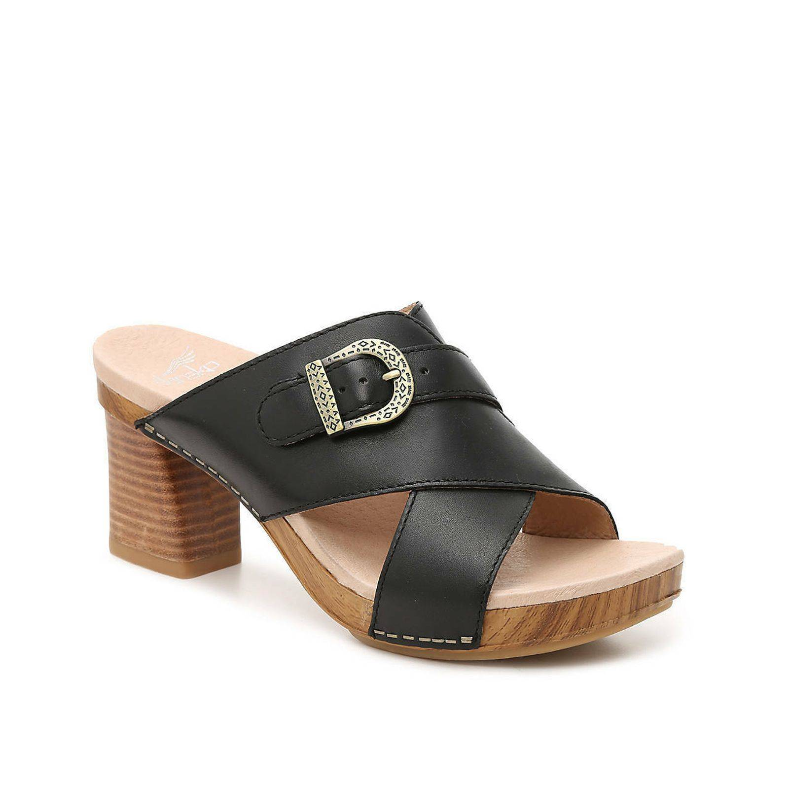 Dansko Amy Sandal in Black Sz 10.5 (41)