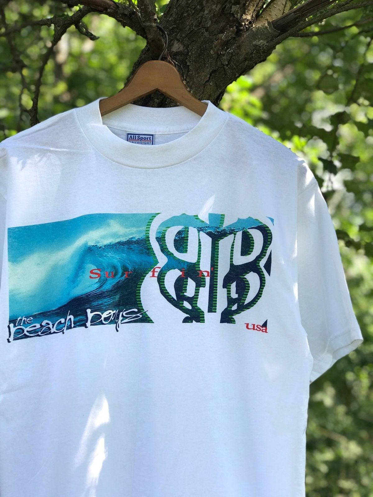 Vintage 90s Beach Boys Band Tee Shirt