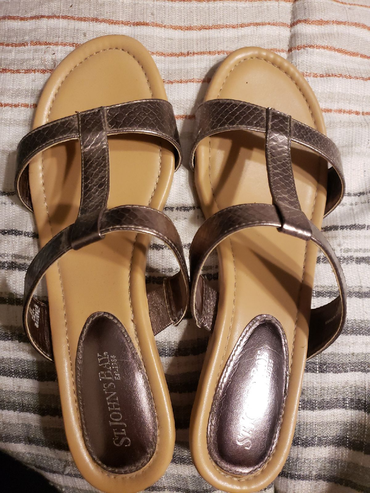 St. John's Bay Wedge Sandals | Mercari