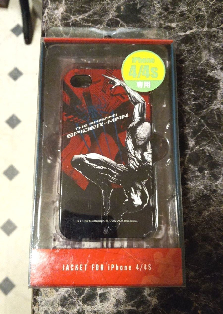 iPhone 4 4s Case Spiderman New in Packag