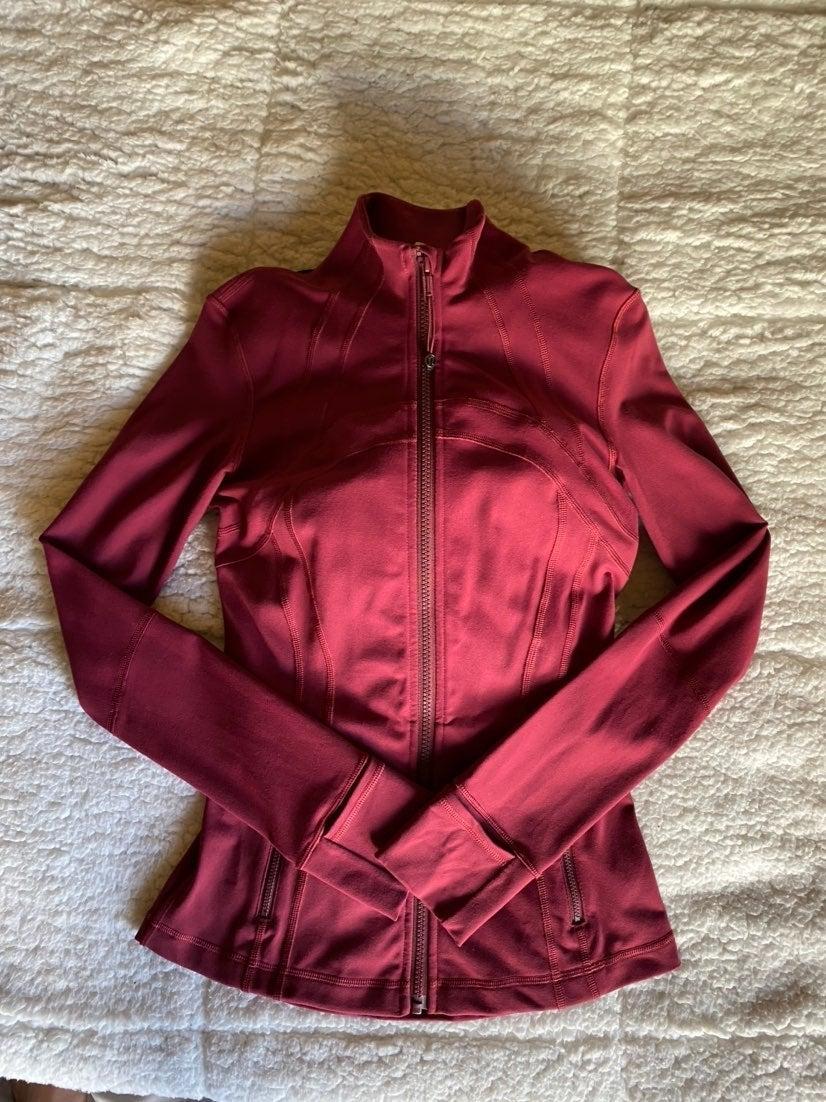 Lululemon Define Jacket - Ruby Wine