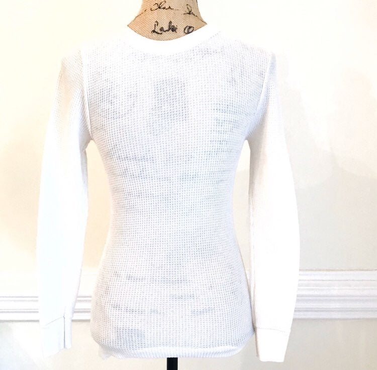 Jerzees Thermal Layering Tee Shirt S