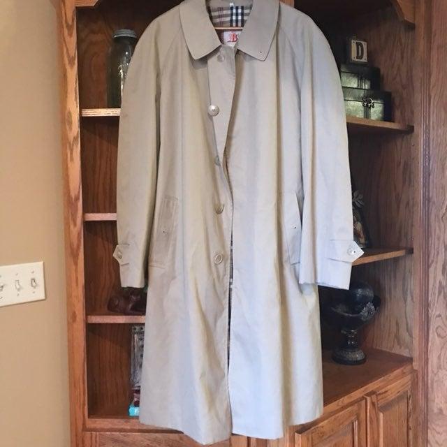 Vintage Baracuta Four Climes Trench Coat
