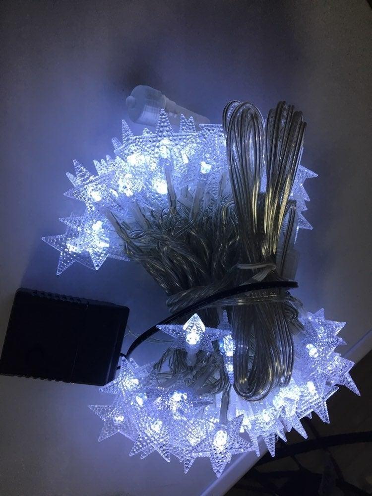 33FT 100 LED Stars String Lights,