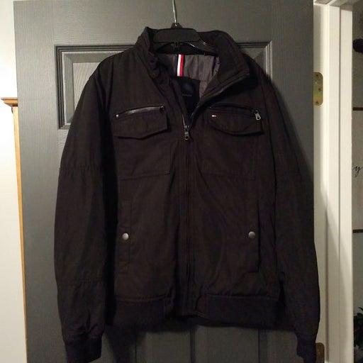 Tommy Hilfiger Medium Mens Coat Black