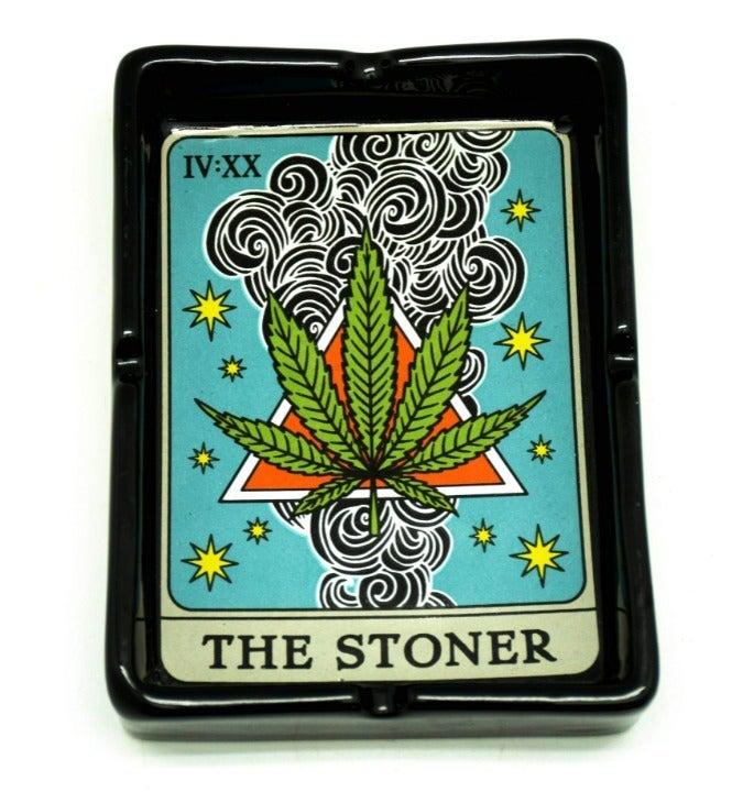 Weed Tarot Card Style Ashtray