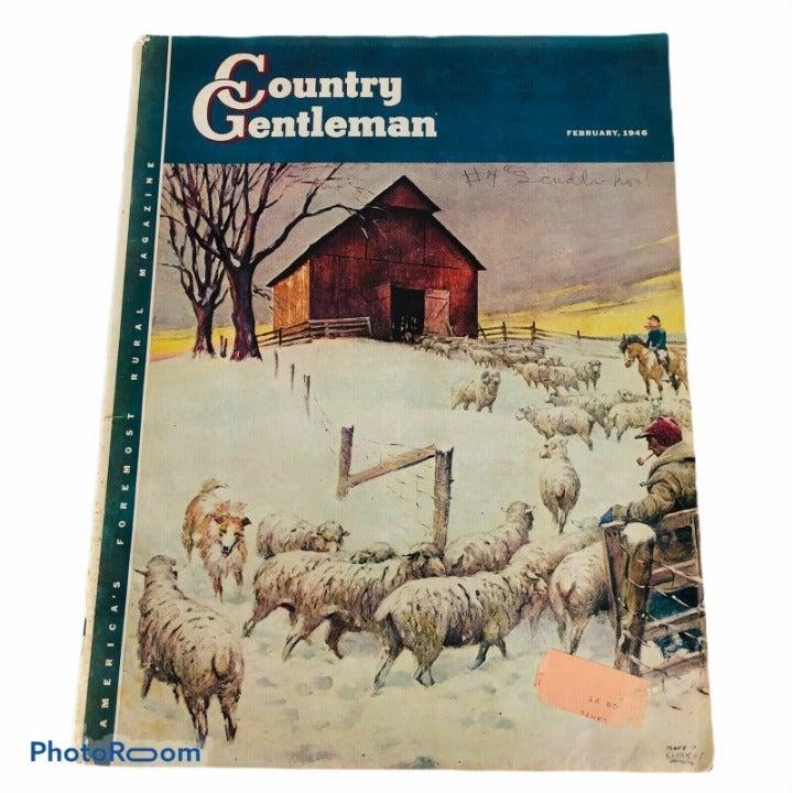 Country Gentleman Magazine February 1946
