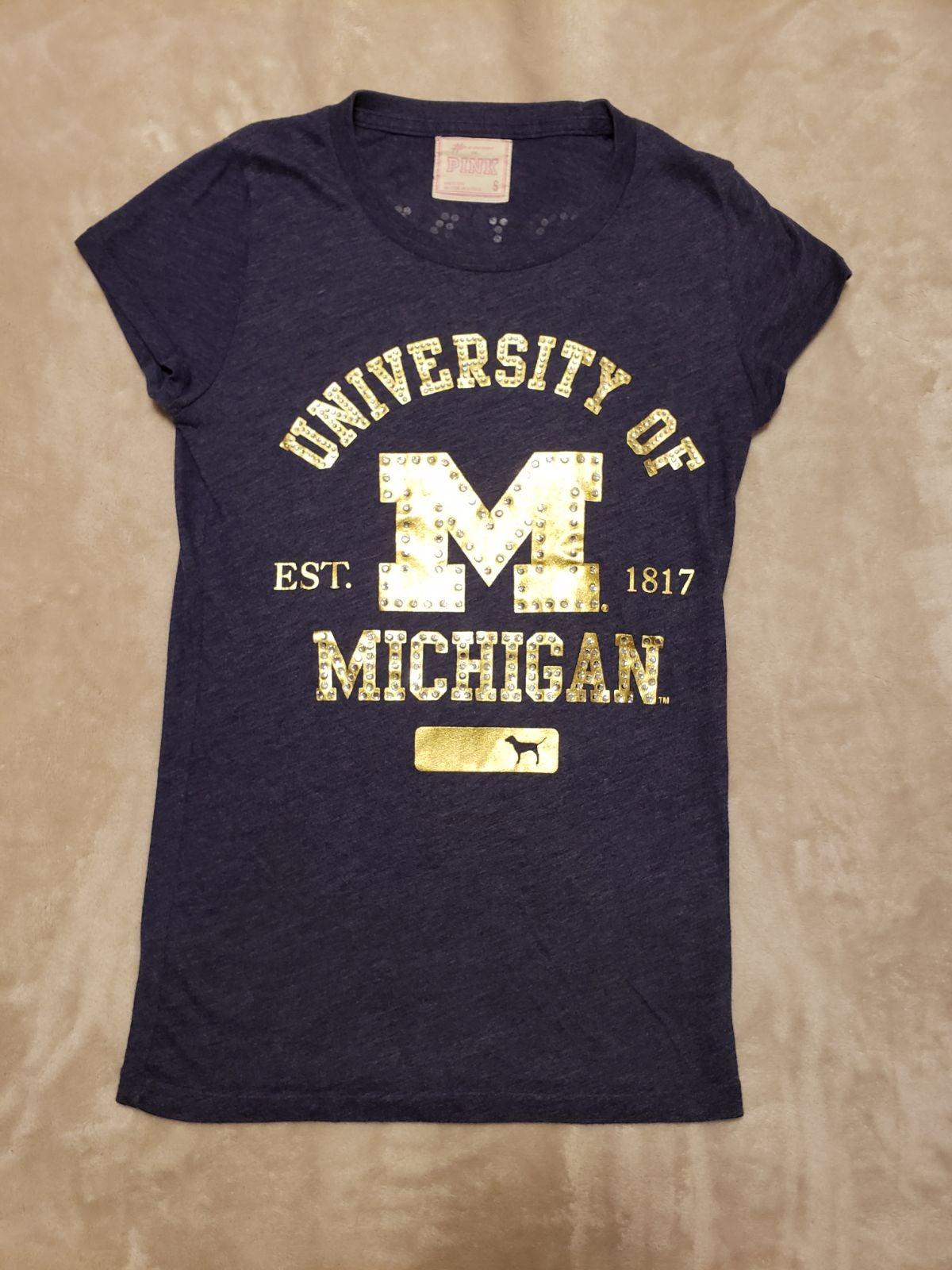 PINK University of Michigan T-shirt