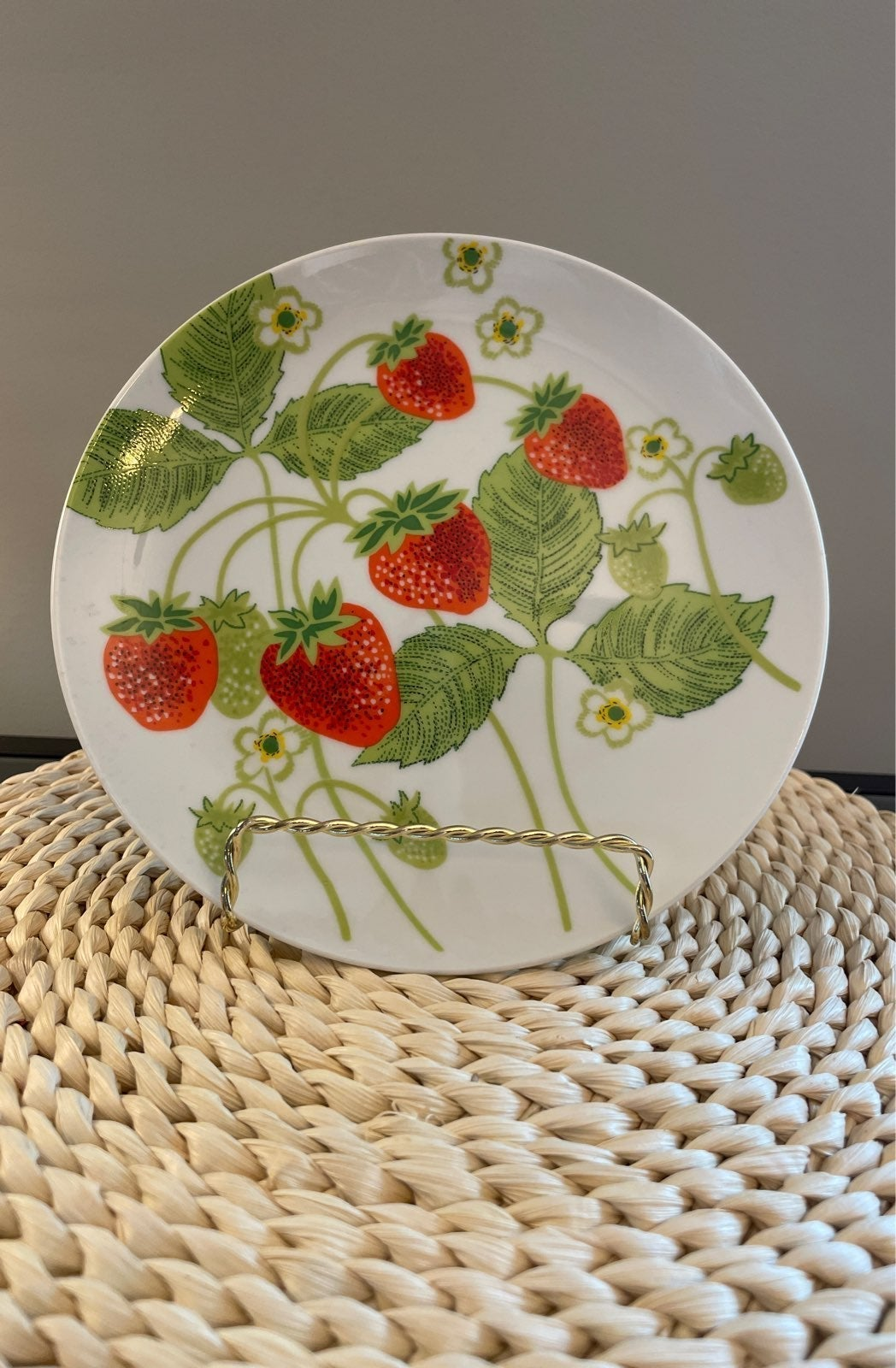 Vintage Fitz and Floyd Wild Strawberry P