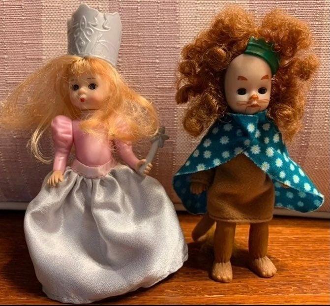 Alexander Wizard of Oz Glinda Lion Dolls