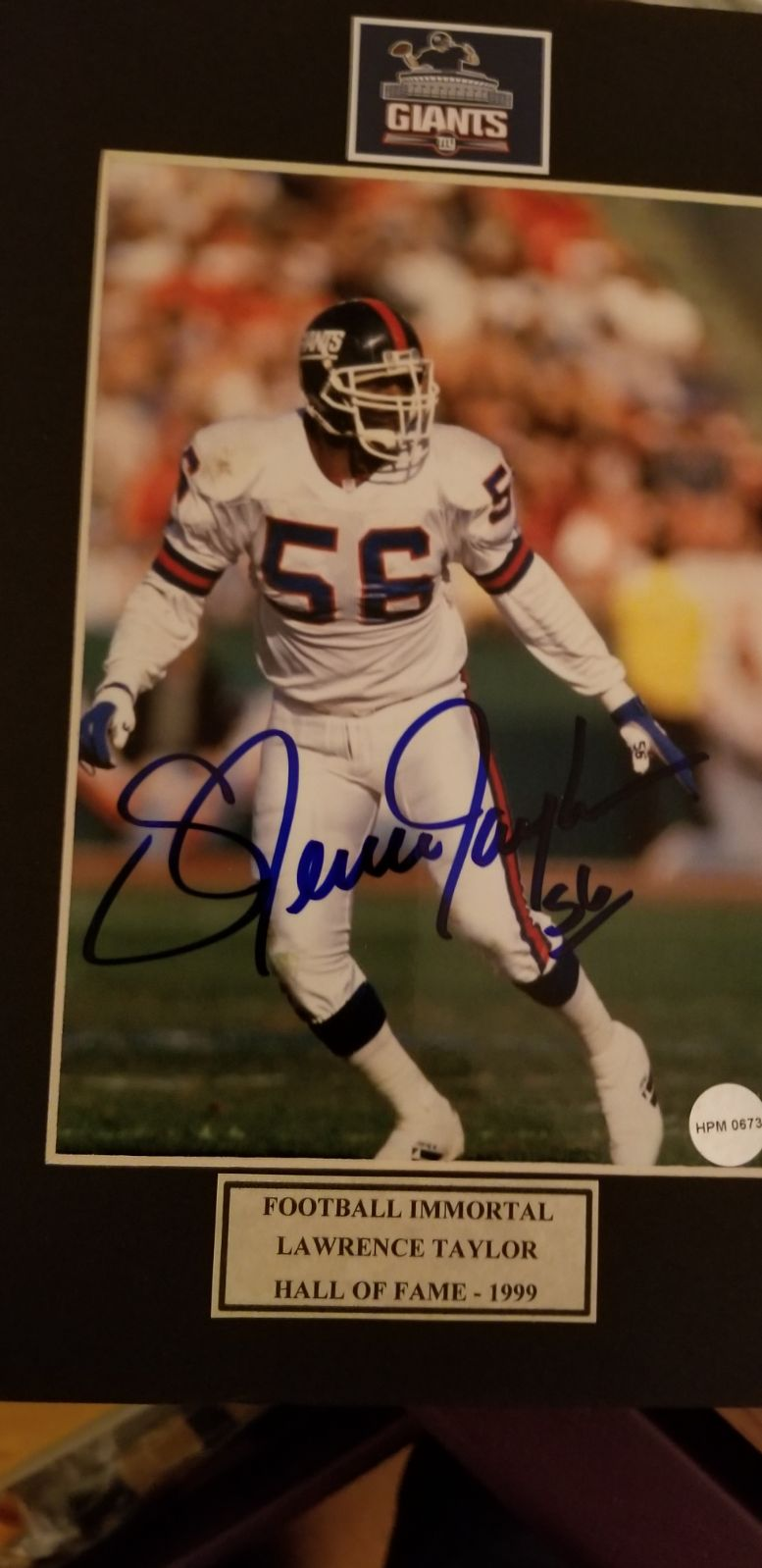 8×10 Lawrence Taylor