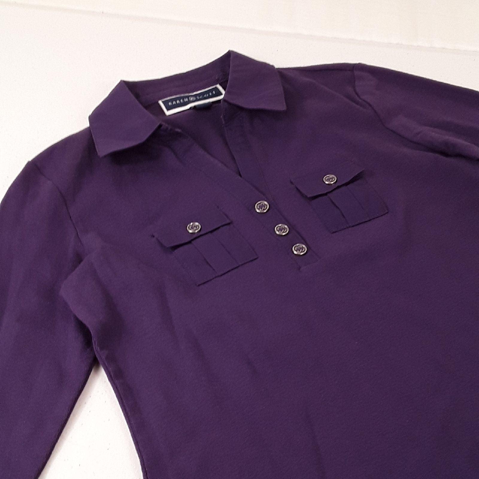 Karen Scott Women's Polo Tunic Sz PP #14