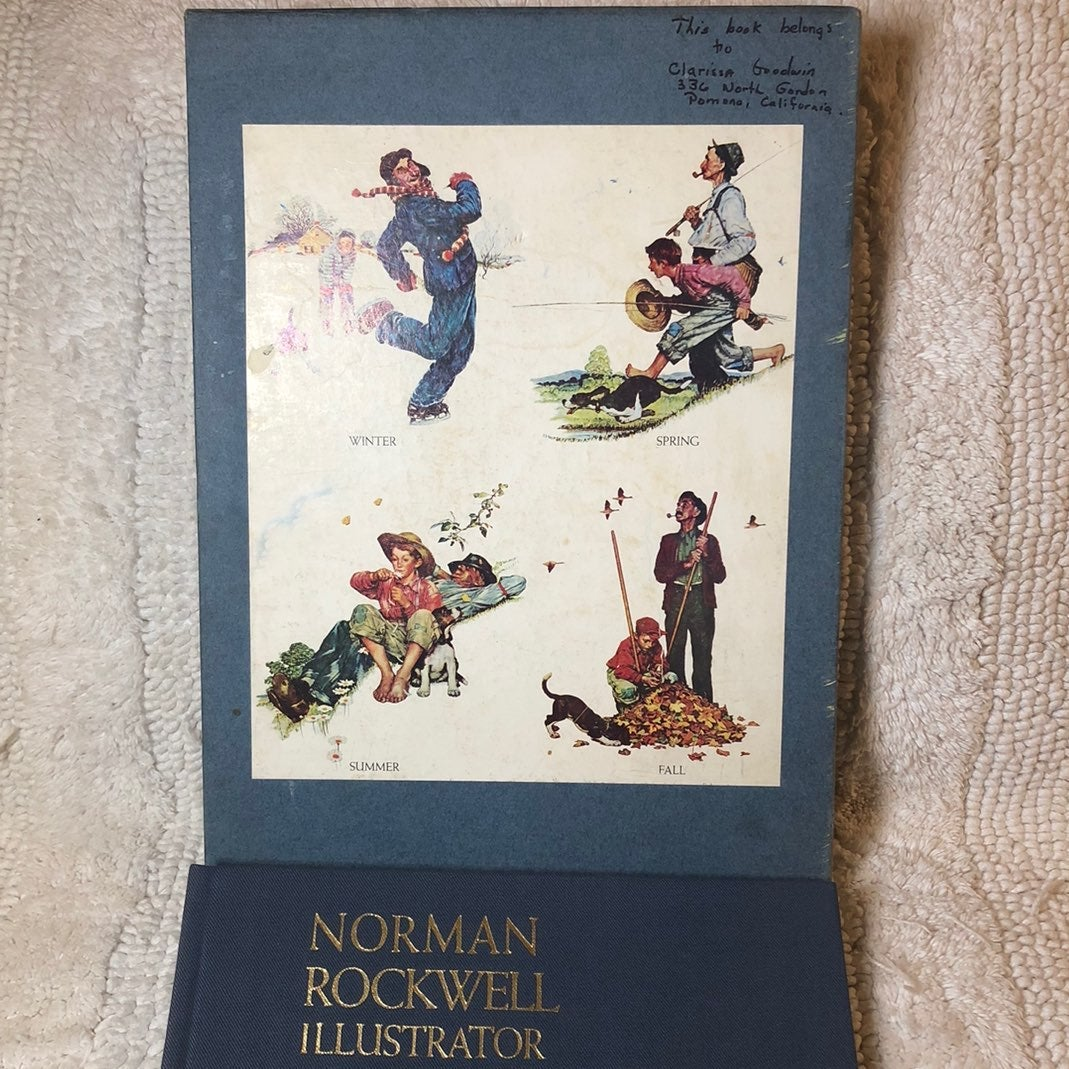 Norman Rockwell: Illustrator Book 1971