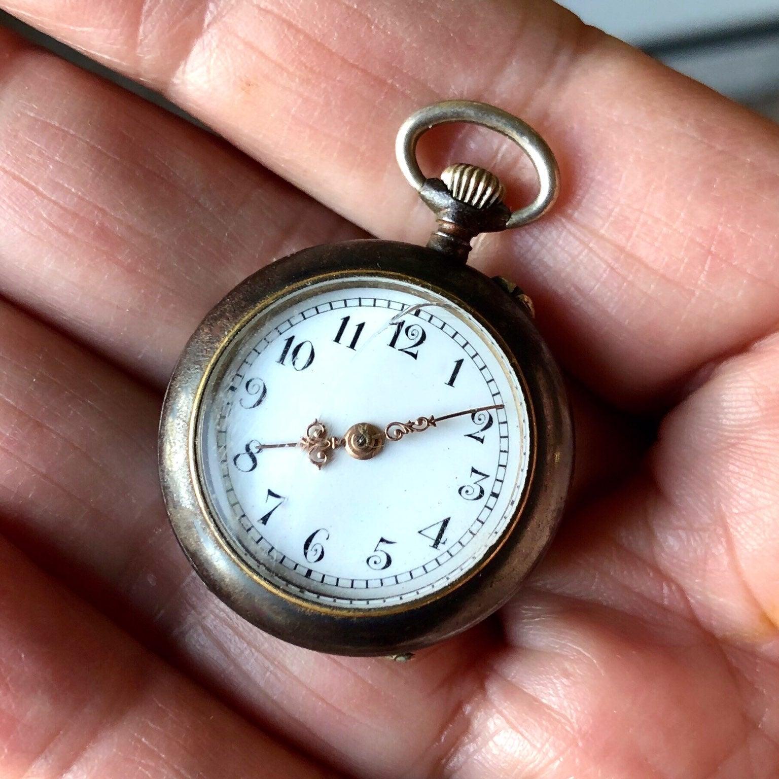 ANTIQUE Swiss OF Pocket Watch 28.0mm