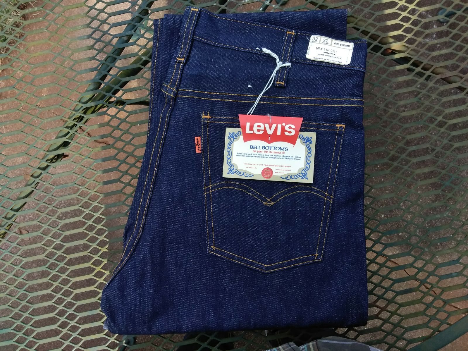 Levi's LVC 646 Bell Bottoms MiUSA 32x32
