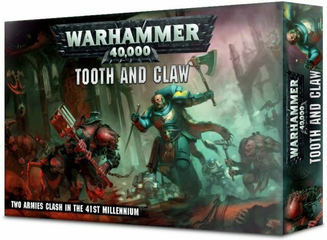 Warhammer 40k tooth and claw box
