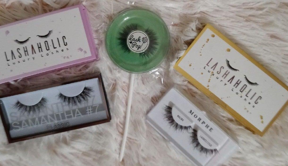 New lot of 5 false/fake eyelashes