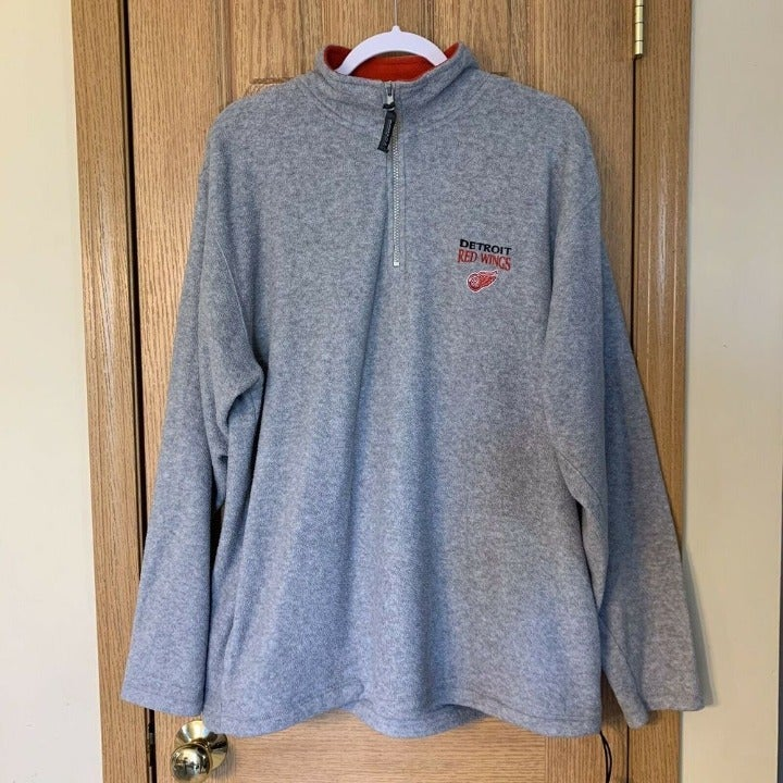 Detroit Red Wings Fleece Pro Edge Sz XL