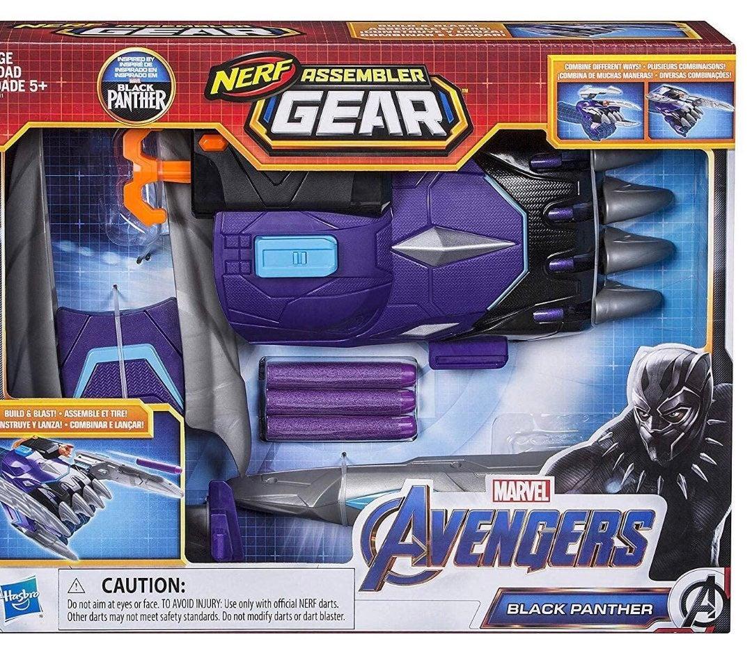 Nerf Assembler Gear Toy Black Panther